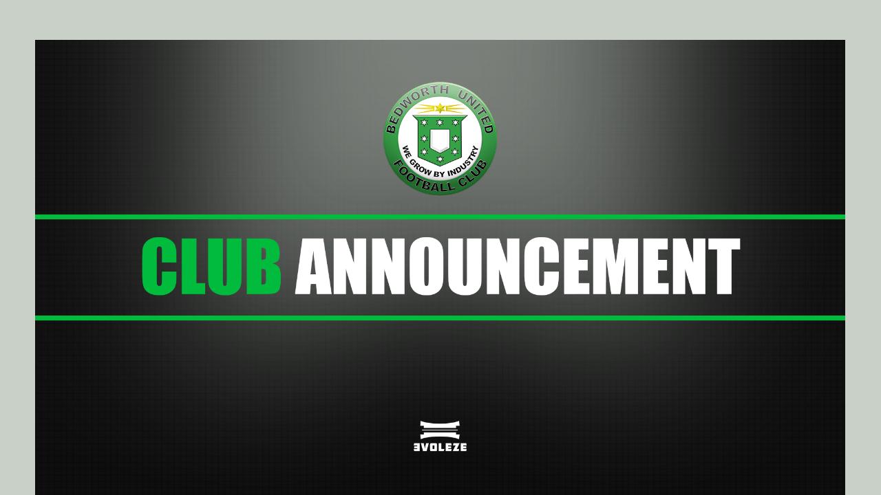 2020/2021 fixtures - Bedworth United